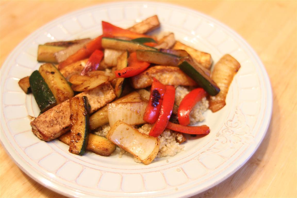 how to make tofu fajitas